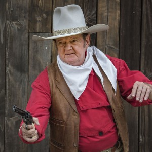 John Wayne Impersonator Jeff Wayne Sutherland - Impersonator / Actor in Lodi, California