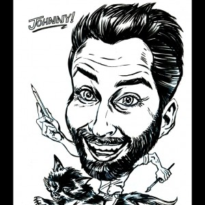 Johnny Golden Art - Caricaturist in Chicago, Illinois