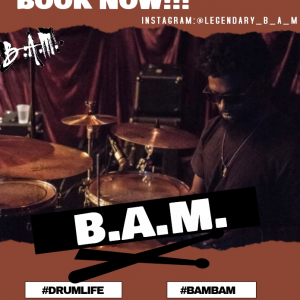 """Jonathan """"B.A.M"""" Holmes - Drummer in Nashville, Tennessee"""