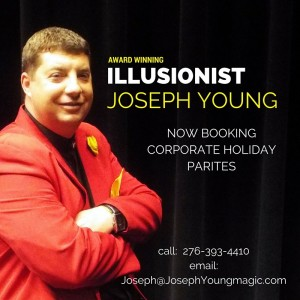Magician Joseph Young - Corporate Comedian in Knoxville, Tennessee