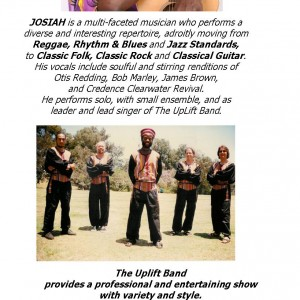 Josiah Solomon and the Uplift Band - Caribbean/Island Music in San Diego, California