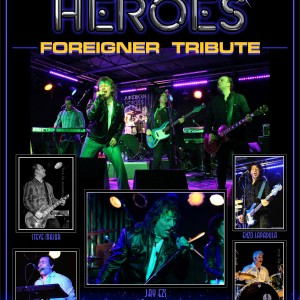 Jukeheroes international Foreigner tribute - Tribute Band in Toronto, Ontario
