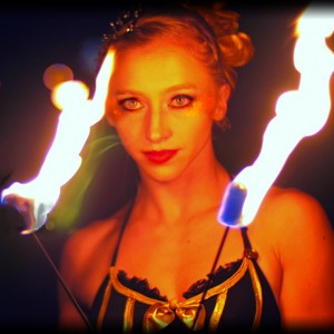 Julia Jerome, Circus Artist - Fire Performer in San Francisco, California