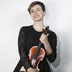 Julia Mills - Violinist in Oberlin, Ohio