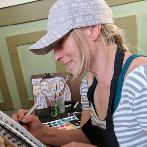 Julie Christine Art - Caricaturist in San Jose, California