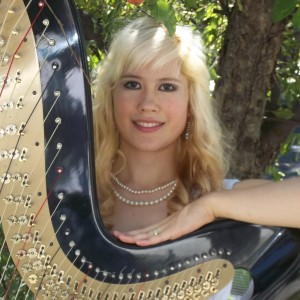 Julie ni Hewkin, harpist and vocalist - Harpist / Celtic Music in Salt Lake City, Utah