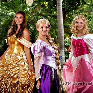 Julie's Party People - Princess Party in San Diego, California