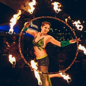 Juniper - Fire Performer / Polynesian Entertainment in Houston, Texas