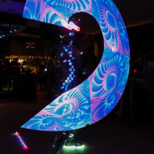 The Human Disco Ball - LED Performer / Hoop Dancer in Pawtucket, Rhode Island