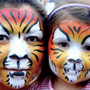 Kaleidoscope Design - Face Painter in Worcester, Massachusetts
