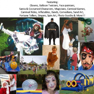 Kaleidoscope Entertainment, Inc. - Party Inflatables / Costumed Character in Lancaster, Ohio