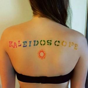 Kaleidoscope Temporary Airbrush Tattoos