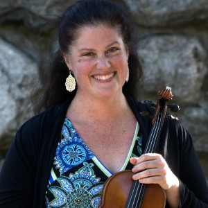 Karen Burciaga, violinist and fiddler