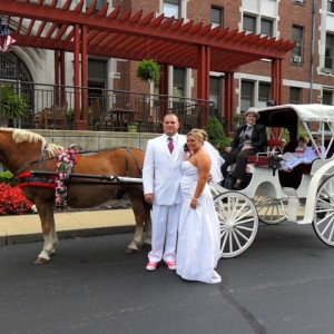 Karen's Carriage - Horse Drawn Carriage / Historical Character in Cincinnati, Ohio