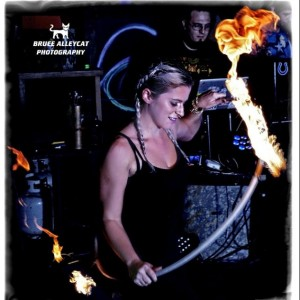 Kari Kraken - Fire Performer in Wilmington, North Carolina