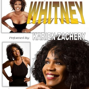 Karien Zachery as Whitney Houston - Whitney Houston Impersonator in Gardena, California