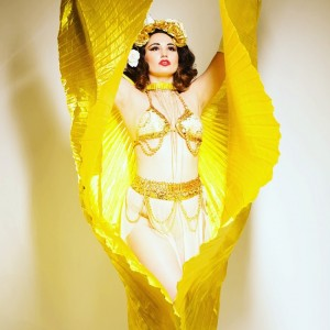 Karina Libido, Nesting Doll of Burlesque - Burlesque Entertainment in Burlington, Vermont