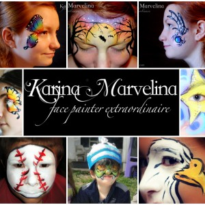 Karina Von Marvelina - Facepainter extraordinaire! - Face Painter in Oneonta, New York