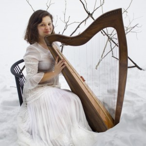 Kate Brittenham, Folk harpist - Celtic Music in Keene, New Hampshire
