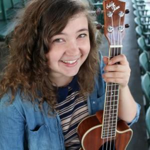 Katie Berger - Ukulele Player / Beach Music in St Petersburg, Florida