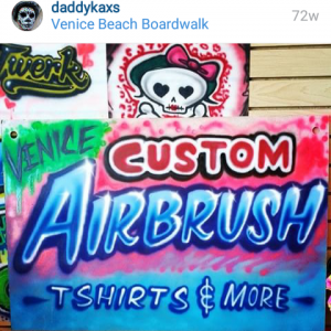Kaxs Custom Airbrush Art - Airbrush Artist in Los Angeles, California