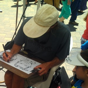 Keen i Caricatures - Caricaturist in Vail, Colorado