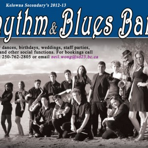 Kelowna Secondary School Rhythm and Blues Band - R&B Group in Kelowna, British Columbia