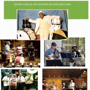 Kenny Sara & The Sounds Of New Orleans - New Orleans Style Entertainment in Altadena, California
