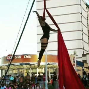 Keren Maceira Performing Artist - Aerialist in Virginia Beach, Virginia