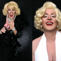 Kevan Evon as Joan Rivers and Marilyn Monroe - Joan Rivers Impersonator / Marilyn Monroe Impersonator in New York City, New York