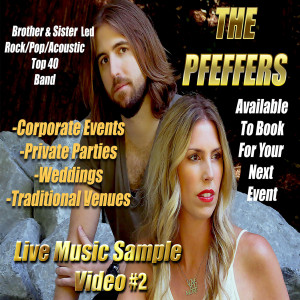 The Pfeffers - Cover Band / Top 40 Band in San Jose, California
