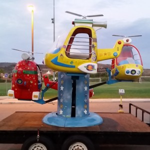 Kiddie helicopter ride - Carnival Rides Company in Lake Elsinore, California