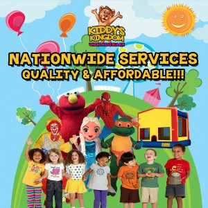 Kiddy's Kingdom Houston, TX - Cartoon Characters / Costume Rentals in Houston, Texas