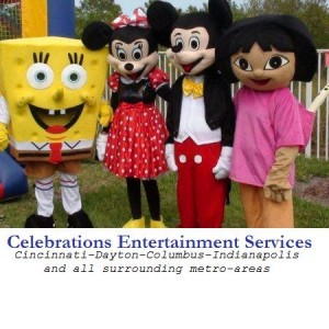 Kids Party Characters by Celebrations