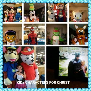 KidZ Characters For Christ - Cartoon Characters / Costume Rentals in Anderson, South Carolina