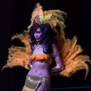 KiKi Maroon Showgirls and Circus - Emcee / Fire Eater in Houston, Texas