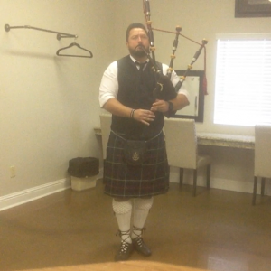 Kilted Klise - Bagpiper in Fresno, California