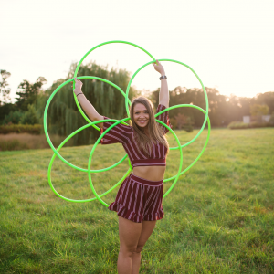 Kim Cuppett: Hoop Dancer - Hoop Dancer / Traveling Circus in Hollidaysburg, Pennsylvania