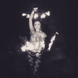 KITTY NOIR Fire & LED Performer / Intuitive Dancer - Fire Performer / Hoop Dancer in San Diego, California