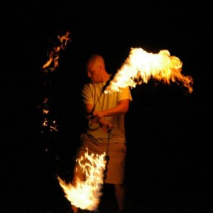 Kodiak Bear Love - Fire Performer in Chattanooga, Tennessee