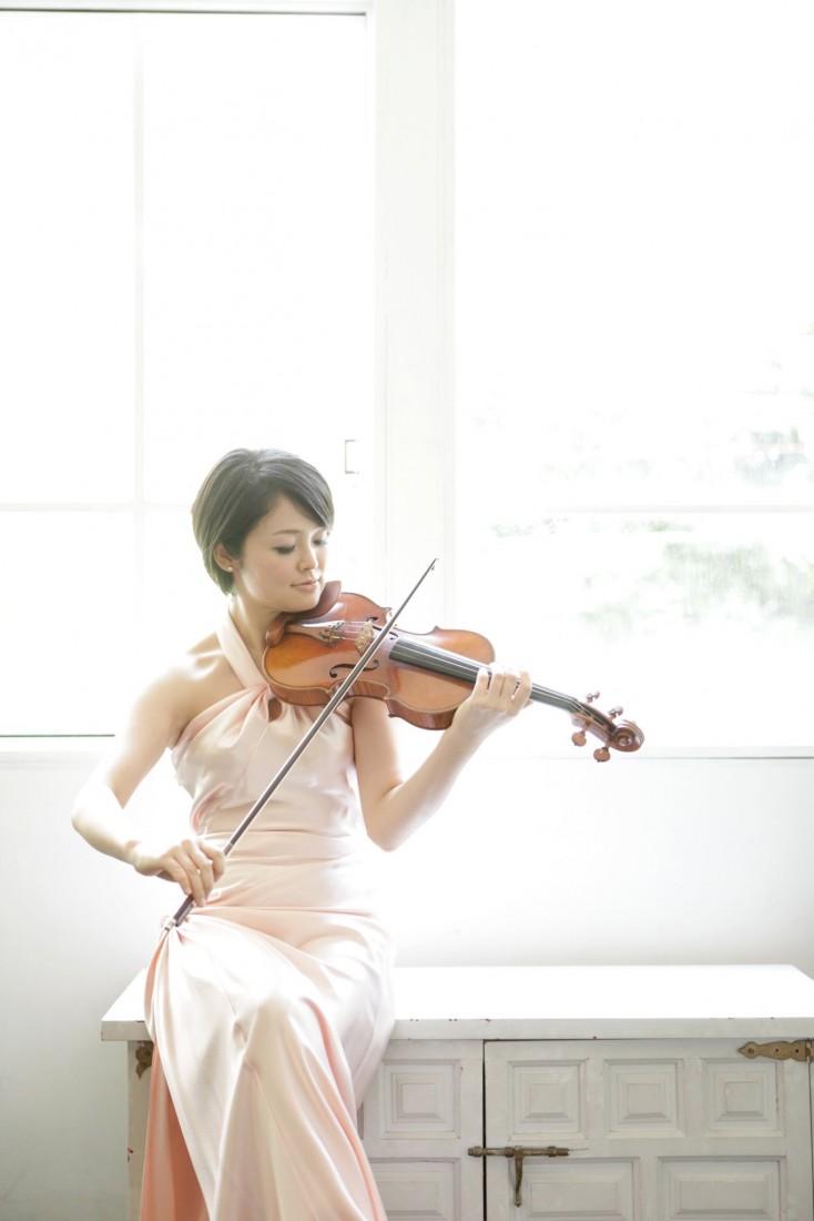 Violinist In Des Moines, Iowa