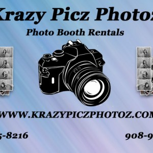 Krazy Picz Photoz - Photo Booths / Wedding Services in Colonia, New Jersey