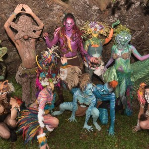 Kreaturez - Body Painter / Dance Troupe in Cooper City, Florida