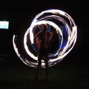Kristen Butcher - Fire Performer in Charleston, West Virginia