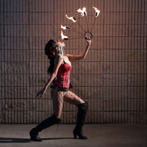 Kristina Rev - Fire Performer / Traveling Circus in Austin, Texas