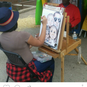 Kryzzy Drewit - Caricaturist / Family Entertainment in Allentown, Pennsylvania
