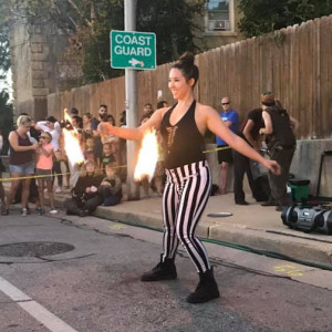 KymCores Performance Art - Fire Dancer / Fire Eater in Milwaukee, Wisconsin