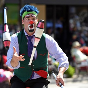 L-Bow the Clown - Clown / Fire Performer in Wenatchee, Washington
