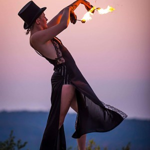 Nicole - Fire Performer / Outdoor Party Entertainment in Montreal, Quebec