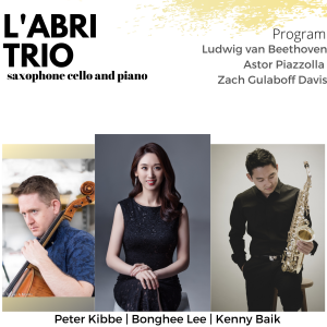 L'abri Trio ~ Saxophone/Cello/Piano - Classical Ensemble in Centreville, Virginia